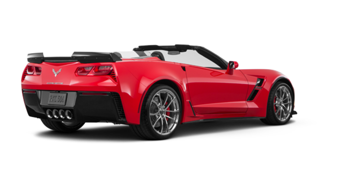 2018 Chevrolet Corvette Convertible Grand Sport 3LT   Photo 5   Torch Red