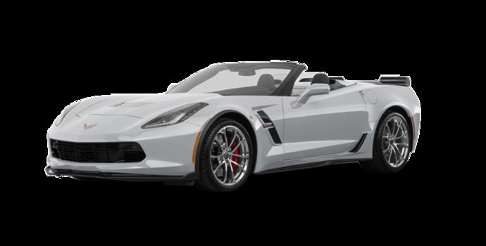2018 Chevrolet Corvette Convertible Grand Sport 3LT   Photo 6   Blade Silver Metallic