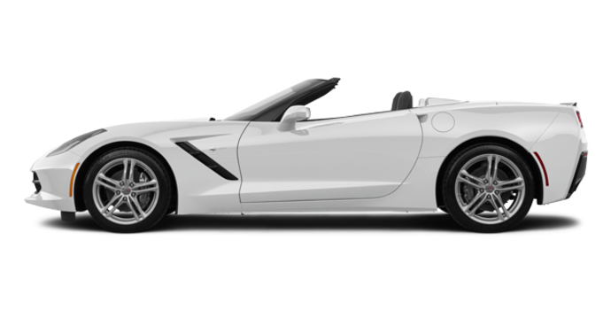 2018 Chevrolet Corvette Convertible Stingray 1LT | Photo 4 | Arctic White