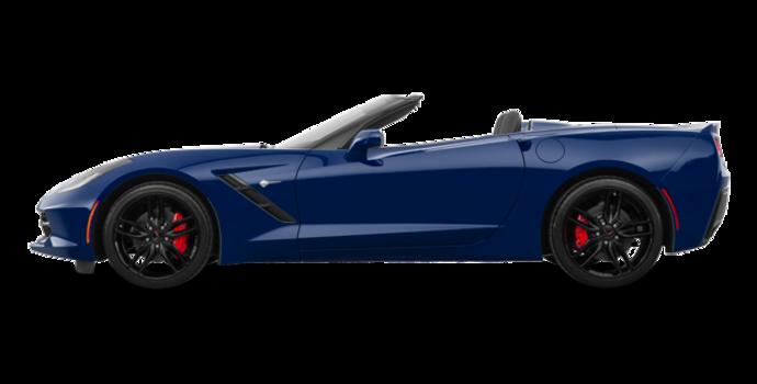 2018 Chevrolet Corvette Convertible Stingray Z51 1LT | Photo 4 | Admiral Blue Metallic