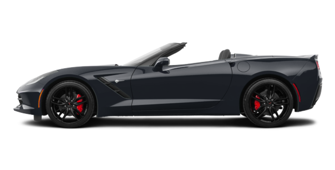 2018 Chevrolet Corvette Convertible Stingray Z51 3LT | Photo 4 | Watkins Glen Grey Metallic