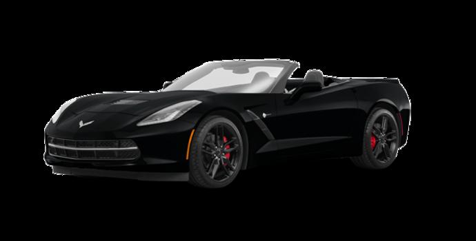 2018 Chevrolet Corvette Convertible Stingray Z51 3LT | Photo 6 | Black