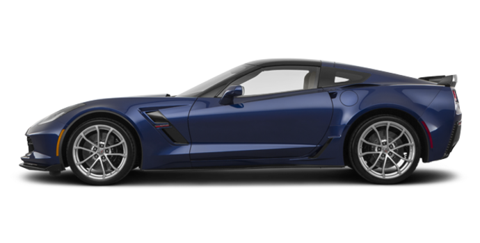 2018 Chevrolet Corvette Coupe Grand Sport 3LT | Photo 4 | Admiral Blue Metallic