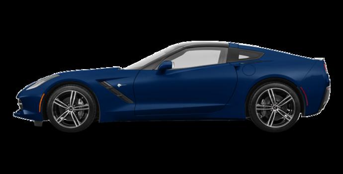 2018 Chevrolet Corvette Coupe Stingray 3LT | Photo 4 | Admiral Blue Metallic