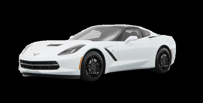 2018 Chevrolet Corvette Coupe Stingray Z51 1LT | Photo 6 | Arctic White