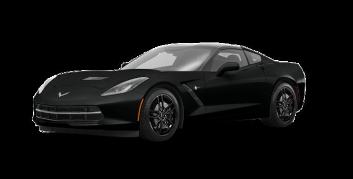 2018 Chevrolet Corvette Coupe Stingray Z51 1LT | Photo 6 | Black