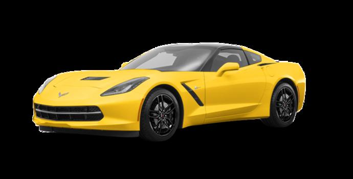 2018 Chevrolet Corvette Coupe Stingray Z51 1LT | Photo 6 | Corvette Racing Yellow Tintcoat