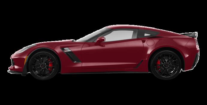 2018 Chevrolet Corvette Coupe Z06 1LZ   Photo 4   Long Beach Red Metallic Tintcoat