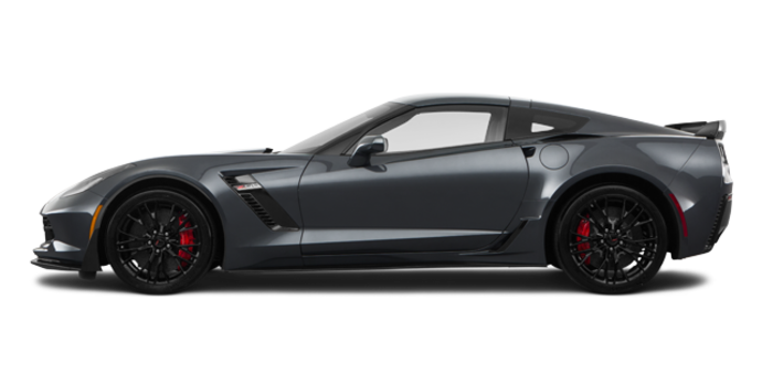 2018 Chevrolet Corvette Coupe Z06 1LZ   Photo 4   Watkins Glen Grey Metallic
