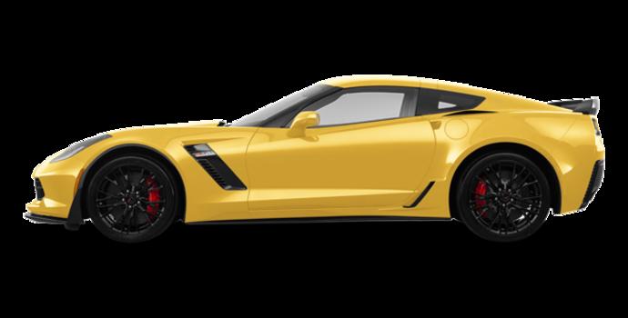 2018 Chevrolet Corvette Coupe Z06 1LZ   Photo 4   Corvette Racing Yellow Tintcoat