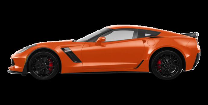 2018 Chevrolet Corvette Coupe Z06 1LZ   Photo 4   Sebring Orange Tintcoat