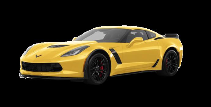 2018 Chevrolet Corvette Coupe Z06 1LZ   Photo 6   Corvette Racing Yellow Tintcoat