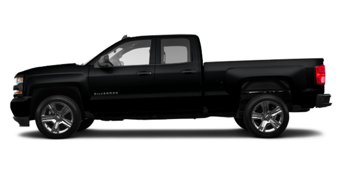 2018 Chevrolet Silverado 1500 CUSTOM | Photo 4 | Black