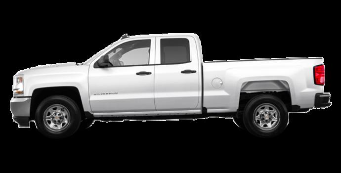 2018 Chevrolet Silverado 1500 LS   Photo 4   Summit White