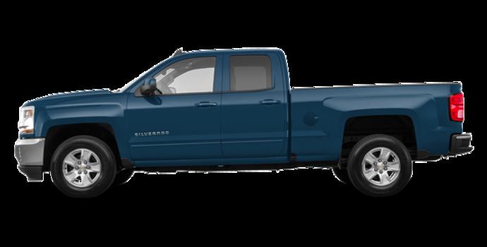 2018 Chevrolet Silverado 1500 LT 1LT   Photo 4   Deep Ocean Blue Metallic