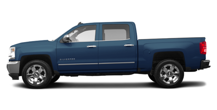 2018 Chevrolet Silverado 1500 LTZ 1LZ   Photo 4   Deep Ocean Blue Metallic