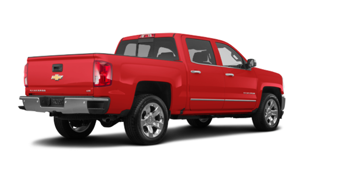 2018 Chevrolet Silverado 1500 LTZ 1LZ   Photo 5   Red Hot