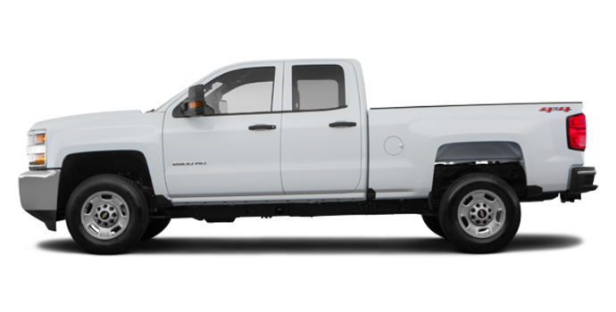 2018 Chevrolet Silverado 2500HD WT   Photo 4   Summit White