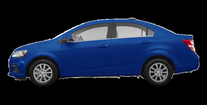 2018 Chevrolet Sonic LT | Photo 4 | Kinetic Blue Metallic