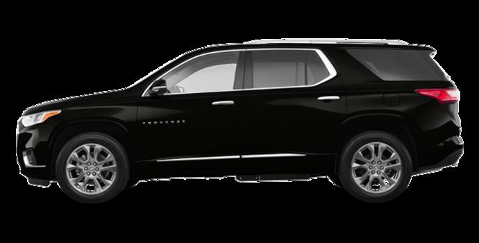 2018 Chevrolet Traverse PREMIER   Photo 4   Mosaic Black Metallic