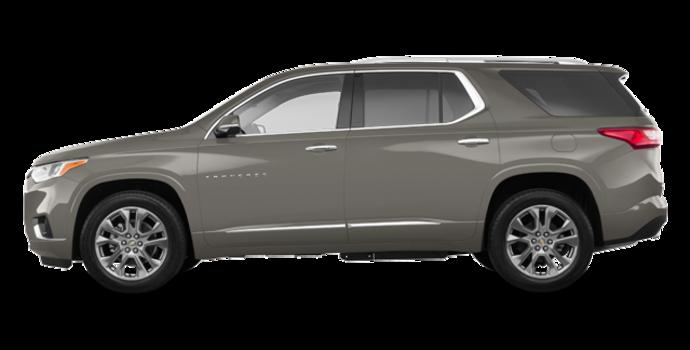2018 Chevrolet Traverse PREMIER   Photo 4   Pepperdust Metallic