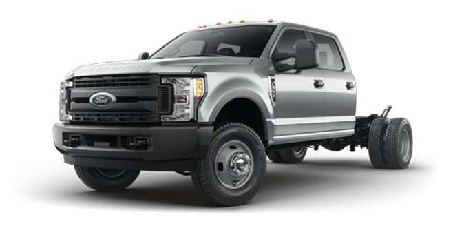 2018 Ford Chassis Cab F-350 XL   Photo 4   Ingot Silver