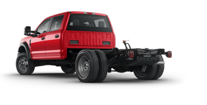 2018 Ford Chassis Cab F-450 XL   Photo 5   Race Red