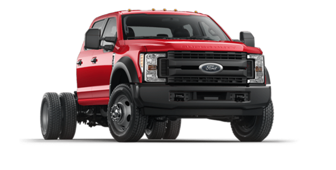 2018 Ford Chassis Cab F-450 XL   Photo 6   Race Red