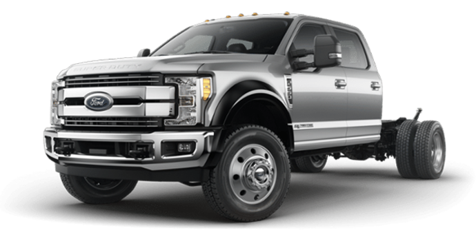 2018 Ford Chassis Cab F-550 LARIAT | Photo 4 | Ingot Silver