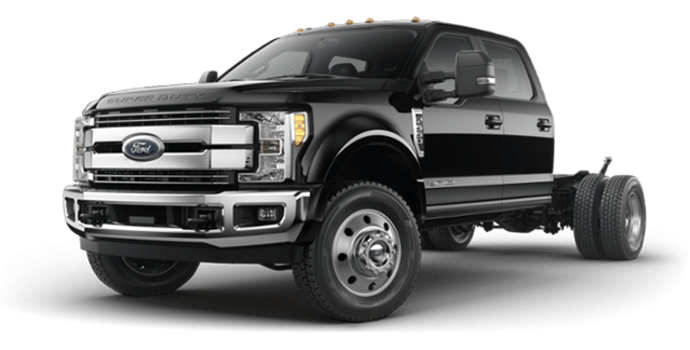2018 Ford Chassis Cab F-550 LARIAT | Photo 4 | Shadow Black