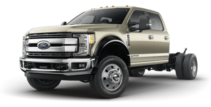2018 Ford Chassis Cab F-550 LARIAT | Photo 4 | White Gold