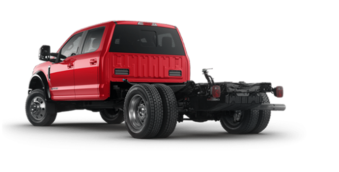 2018 Ford Chassis Cab F-550 LARIAT | Photo 5 | Race Red