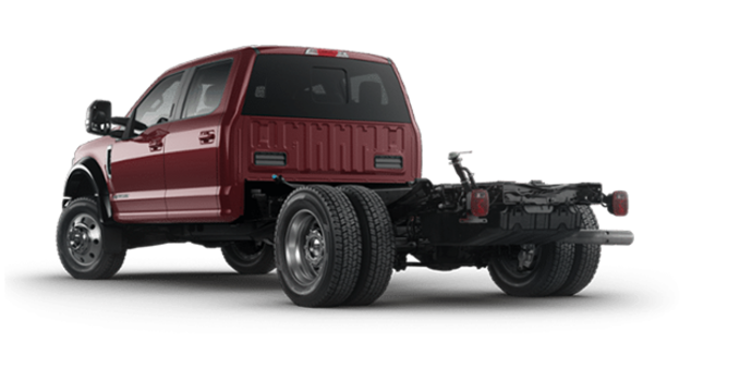 2018 Ford Chassis Cab F-550 LARIAT | Photo 5 | Magma Red