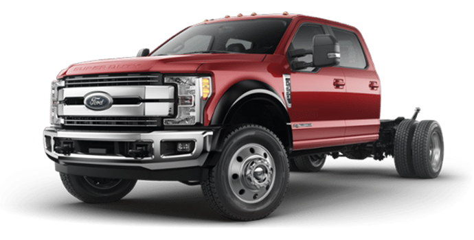2018 Ford Chassis Cab F-550 LARIAT | Photo 4 | Ruby Red