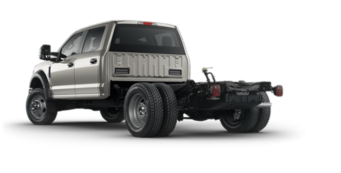 2018 Ford Chassis Cab F-550 XLT | Photo 5 | Stone Gray