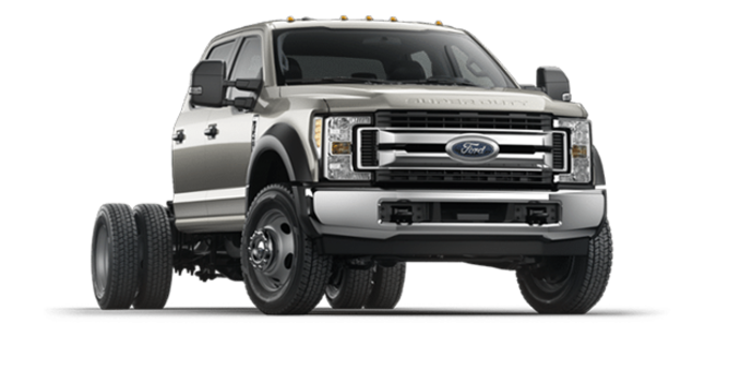 2018 Ford Chassis Cab F-550 XLT | Photo 6 | Stone Gray