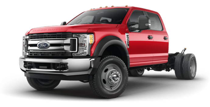 2018 Ford Chassis Cab F-550 XLT | Photo 4 | Race Red