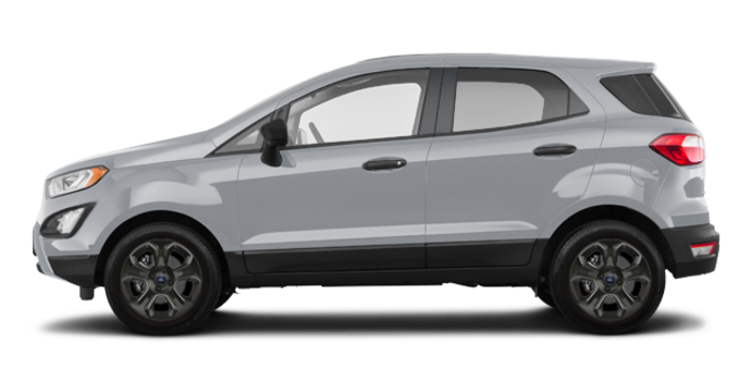 2018 Ford Ecosport S   Photo 4   Moondust Silver