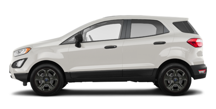 2018 Ford Ecosport S   Photo 4   Diamond White