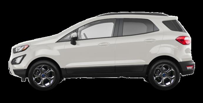 2018 Ford Ecosport SES   Photo 4   Diamond White