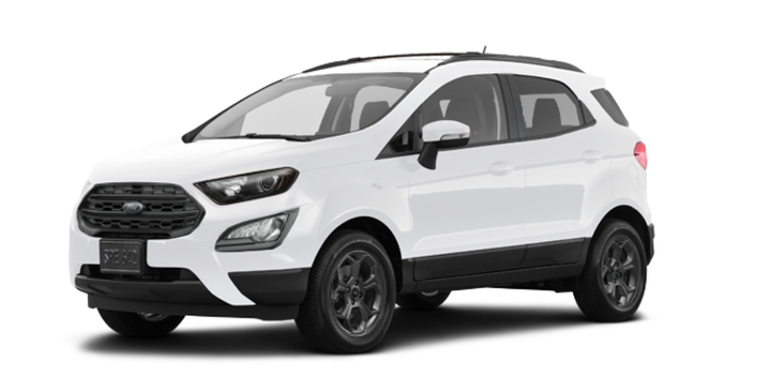 2018 Ford Ecosport SES   Photo 6   White Platinum Metallic