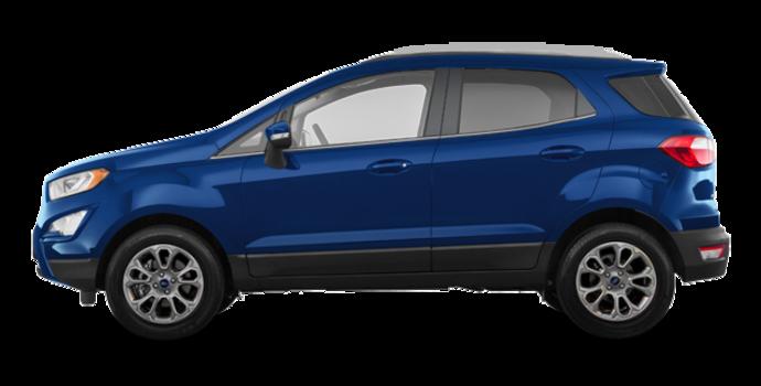 2018 Ford Ecosport TITANIUM | Photo 4 | Lightning Blue