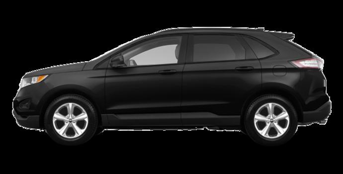 2018 Ford Edge SE   Photo 4   Shadow Black