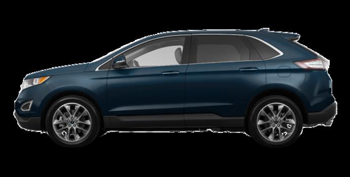 2018 Ford Edge TITANIUM   Photo 4   blue metallic