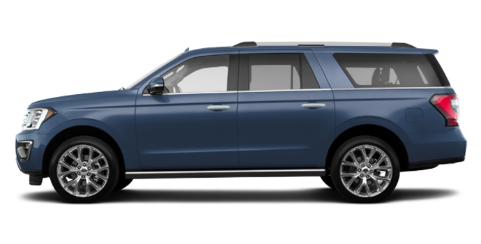 2018 Ford Expedition LIMITED MAX | Photo 4 | blue metallic
