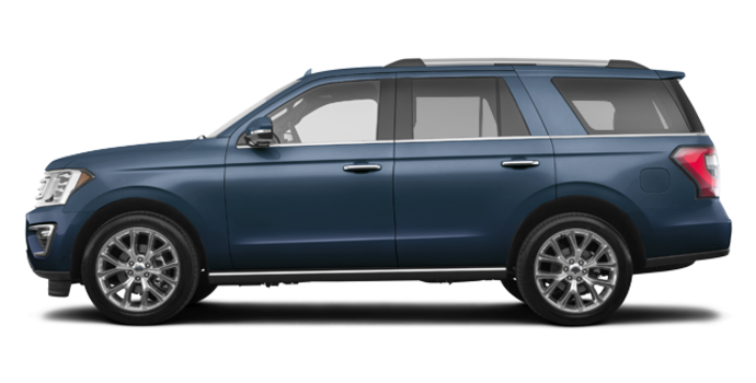 2018 Ford Expedition LIMITED | Photo 4 | blue metallic