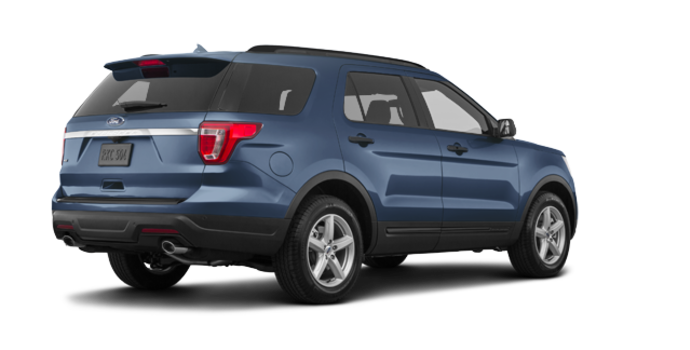 2018 Ford Explorer BASE | Photo 5 | blue metallic