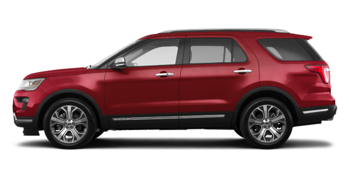 2018 Ford Explorer PLATINUM | Photo 4 | Ruby Red Metallic