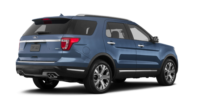2018 Ford Explorer PLATINUM | Photo 5 | blue metallic