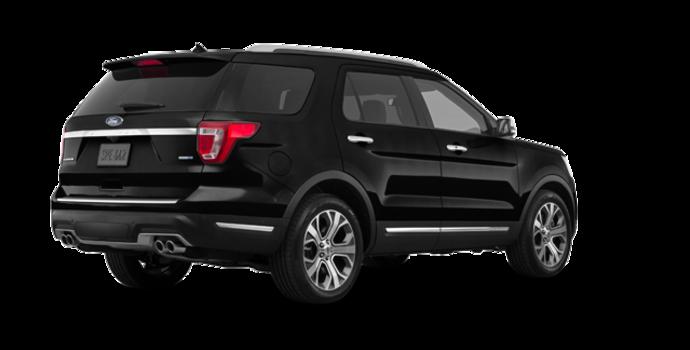2018 Ford Explorer PLATINUM | Photo 5 | Shadow Black